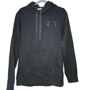 Under Armour Sweatshirt Hoodie Gray Large Storm